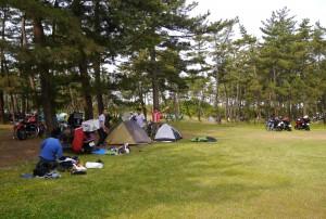 031 Good Mornig  in camp field