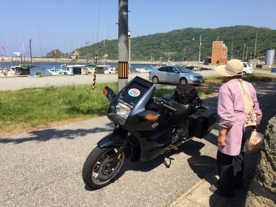 No.11 東京都 荒木敬紀さん「港に大きなバイクが来た」