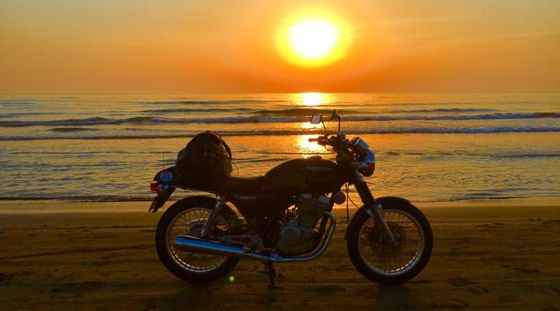 No.69  三重県 中根大さん「ついに見た千里浜の夕日」