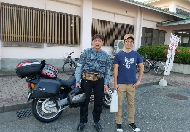 No.91  岩手県 川村秀光さん「親友と久しぶりの再会」