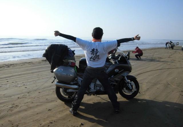 No.151  静岡県 磯部正義さん「静岡人 千里浜に立つ。」