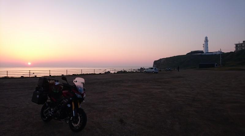 No.192  東京都 小林靖輝さん「さぁTRACER 千里浜に夕日を見に行こうか…」