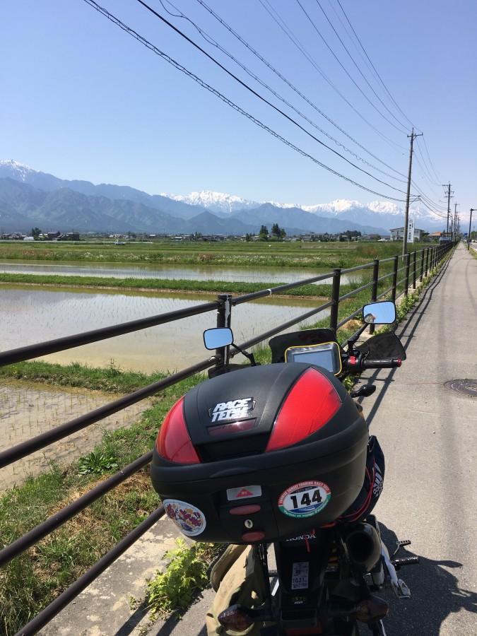 No.295  神奈川県 左近さん「白馬連峰」